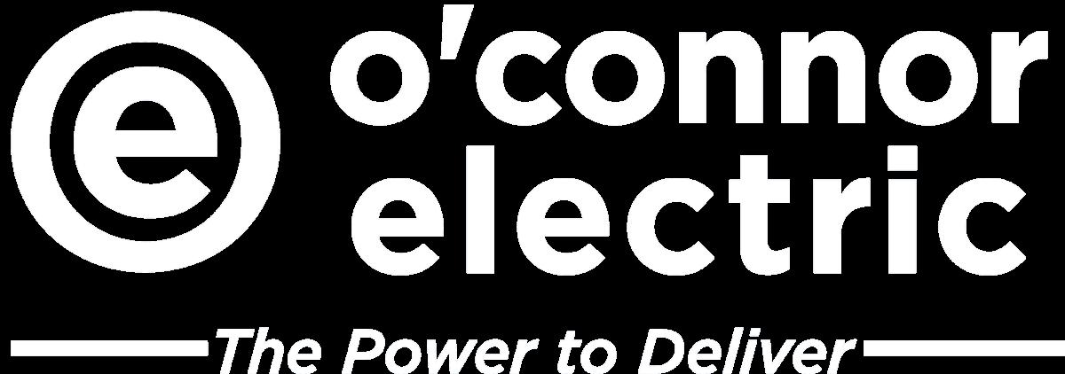 O'Connor Electric White Logo